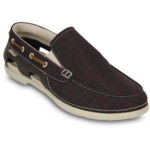 Crocs Men's Beach Line Boat Slip-on   Men's Comfortable Shoes   Crocs Official Site