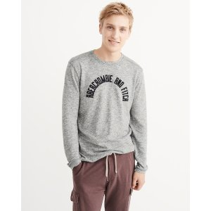 Mens Long Sleeve Graphic Tee | Mens Clearance | Abercrombie.com