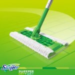 Swiffer Sweeper Cleaner Dry and Wet Mop Starter Kit with Refills