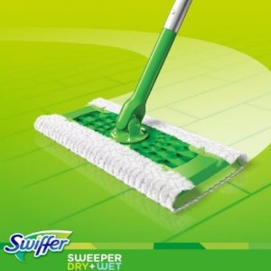 #1 Best seller! $8.99Swiffer Sweeper Cleaner Dry and Wet Mop Starter Kit with Refills