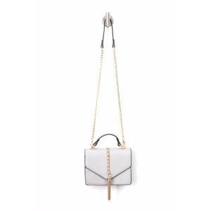 MJ Accessories Envelope Crossbody With Chain Tassel