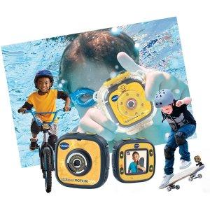 $19.99限今天:VTech Kidizoom 儿童防水运动相机 儿童版GoPro