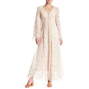Free People | Bell Lace Maxi Dress