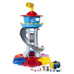Paw Patrol – My Size Lookout Tower with Exclusive Vehicle, Rotating Periscope and Lights and Sounds - Walmart.com