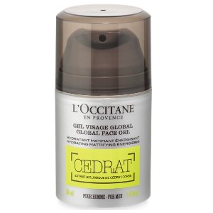 Mattifying face moisturizer | Cedrat Global Face Gel L'Occitane