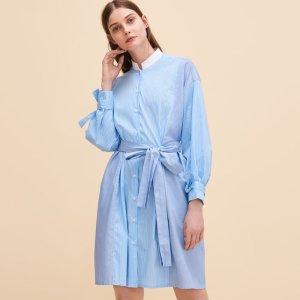 RARTY Striped shirt dress - Dresses - Maje.com