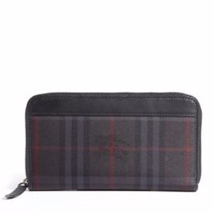 Plaid Zip Wallet