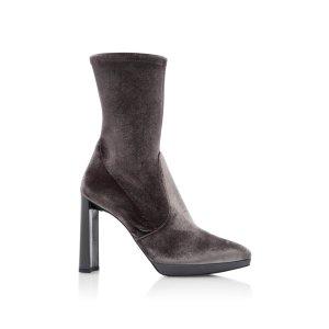 Clinger Velvet Ankle Boots   Moda Operandi