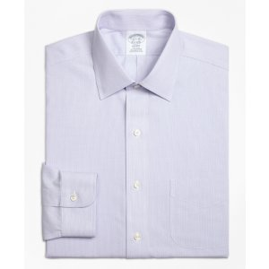 Non-Iron Regent Fit Hairline Stripe Dress Shirt - Brooks Brothers