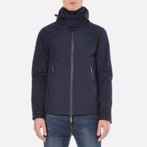 Men's New Hooded Cliff Hiker Jacket - Eclipse Navy/Dark Charcoal