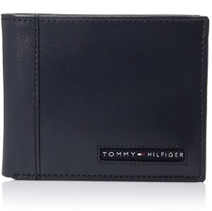$15.35Tommy Hilfiger Men's Leather Cambridge Passcase Wallet with Removable Card Holder