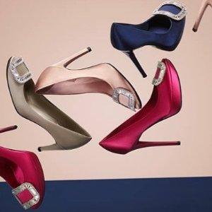 低至6折Roger Vivier 女士鞋履热卖 超美钻扣芭蕾平底