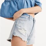 all shorts $20 and under, tops $10 and up @ Abercrombie & Fitch