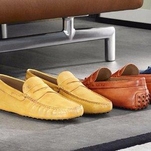 男生福利 $199.99 (原价$425起)Tod's男士豆豆鞋多色,码全 断码中