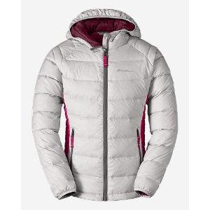 Girls' Downlight Hooded Jacket | Eddie Bauer