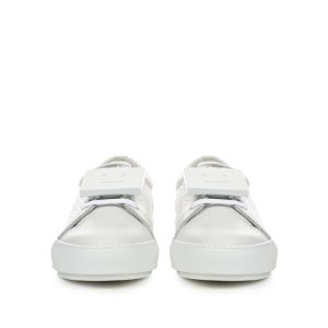 Adriana grained-leather trainers | Acne Studios