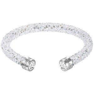 Crystaldust Cuff, White - Jewelry - Swarovski Online Shop