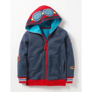 Novelty Zip-up Hoodie B0057 Tops & T-shirts at Boden