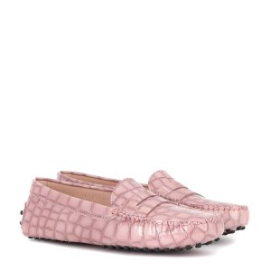 Exclusive to mytheresa.com – Gommino patent leather loafers