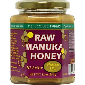 YS Eco Bee Farms Raw Manuka Honey Hi-Active 15 Plus -- 12 oz - Vitacost