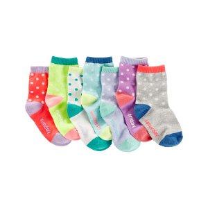 Toddler Girl 7-Pack Days Of The Week Socks | OshKosh.com