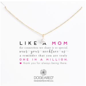 Like A Mom Pearl Sparkle Necklace, Gold Dipped| Dogeared