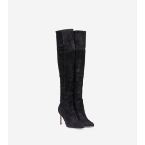 Marina Over-the-Knee Boots 85mm in Black | Cole Haan