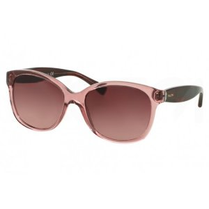 Wine Red RA5189 Sunglasses with 100% UV Protection and Translucent Frame from Ralph Lauren | Focus Camera