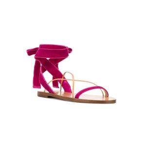 Valentino Valentino Garavani Lace-up Ankle Sandals - Farfetch