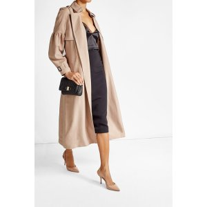 Silk Bishop Sleeved Trench - Burberry