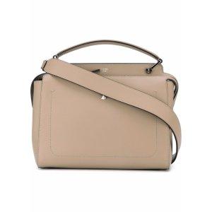 Dot Com Large Leather Handbag