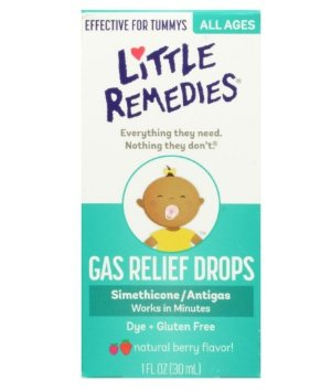 $4.55Little Remedies Tummy Relief Drops, Natural Berry Flavor, 1 Ounce