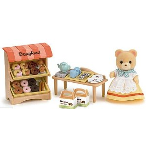 Calico Critters Doughnut Store Toy Set | zulily