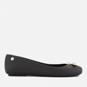 Vivienne Westwood for Melissa Women's Space Love 18 Ballet Flats - Black Pearl Orb