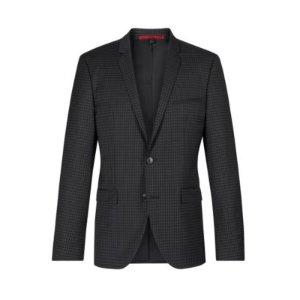 Virgin Wool Sport Coat, Extra Slim Fit | Adris