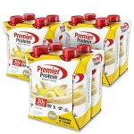 Premier Protein 30g Protein Shake (Pack of 12 x 11 fl oz), Bananas & Cream