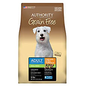 Authority® Small Breed Adult Dog Food - Grain Free, Chicken & Pea | dog Dry Food | PetSmart