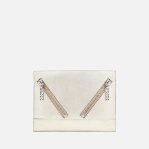 KENZO Women's Kalifornia Clutch Bag - Silver - Free UK Delivery over £50