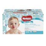HUGGIES 不含酒精宝宝专用湿巾,6包,共432张