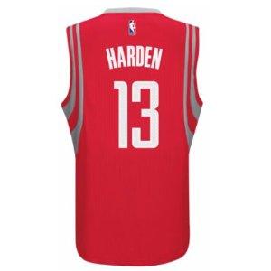 adidas NBA Revolution 30 Swingman Jersey - Men's - Clothing - Houston Rockets - Red