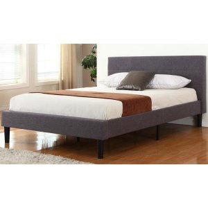 Gobi Classic Tufted Fabric Bed | Sofamania.com
