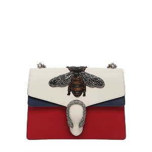 GUCCI - MEDIUM DIONYSUS BEE LEATHER BAG