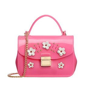 FURLA CANDY LILLA MINI CROSSBODY ROSE a