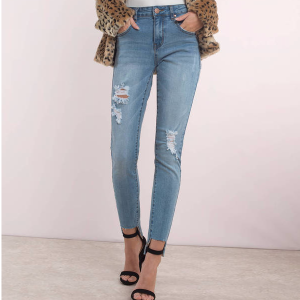 Coldwater Mid Rise Skinny Cropped Jean