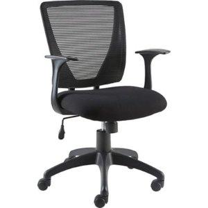 Staples® Vexa Mesh Chair, Black