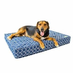 $55.99起Orthopedic 狗狗用记忆凝胶床垫 纯棉床罩可以拆洗