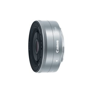 Canon EF-M 22mm f/2 STM Silver Refurbished | Canon Online Store