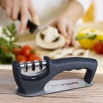 SimpleTaste 3-Stage Sharpening System Knife Sharpener