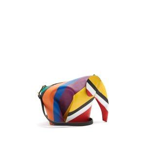 Elephant leather cross-body bag | Loewe