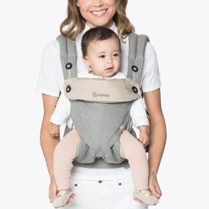 $112.99Ergobaby 360 All Carry Positions Award-Winning Ergonomic Baby Carrier, Grey